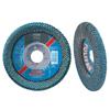 Pferd Polifan Sgp Zirkon Curve Flap Discs, 4 1/2, 40 Grit, 5/8-11 Arbor, 13,300 RPM PFR 419-67359