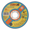 CGW Abrasives Quickie Cut™ Contaminate Free Cut-Off Wheels CGW 421-35515