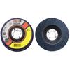 CGW Abrasives Flap Discs, Z3 -100% Zirconia, Regular, 6, 36 Grit, 7/8 Arbor, 10,200 RPM, T27 CGW 421-53001