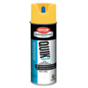Clean and Green: Krylon - Quik-Mark APWA Water-Based Inverted Marking Paints,12 oz,Brilliant Yellow