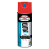 Clean and Green: Krylon - Quik-Mark APWA Water-Based Inverted Marking Paints, 12 oz, Brilliant Red