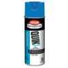 Krylon Quik-Mark APWA Water-Based Inverted Marking Paints, 12 oz, Brilliant Blue ORS 425-A03406004