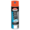 Krylon Quik-Mark Water-Based Fluorescent Inverted Marking Paints, 17 oz, Safety Red ORS 425-A03610004