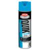 Krylon Quik-Mark Water-Based Fluorescent Inverted Marking Paints, 17 oz, Caution Blue ORS 425-A03620004