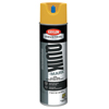 Clean and Green: Krylon - Quik-Mark APWA Solvent-Based Inverted Marking Paints,17 oz, Hi-Vis Yellow