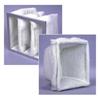 Air and HVAC Filters: Flanders - 425 Cubes - 20x20x20, MERV Rating : 6