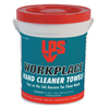 cleaning chemicals, brushes, hand wipers, sponges, squeegees: LPS - Workplace Hand Cleaner Towels, Citrus, Wet Wipe Bucket