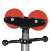 Sumner Adjustable Wheels, 2,000 Lb Cap., 1 1/4 In-24 In Pipe SUM 432-780514