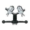 Sumner Adjustable Stand Heads, Vee, 2,000 Lb Cap., 1/8 In-24 In Pipe SUM 432-780518