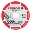 Lenox Metalmax Cut-Off Wheels, 4 1/2 In, 7/8 In Arbor, Steel/Diamond LNX 433-1972921