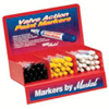 Markal Valve Action® Paint Marker Counter Displays MAR 434-96810