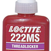 Loctite 222MS™ Threadlocker, Low Strength/Small Screw LOC 442-22205