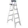 Resin Sheds 8 Foot: Louisville Ladder - AS3000 Series Sentry Aluminum Step Ladders
