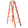 Portable Sheds 6 Foot: Louisville Ladder - FS1500 Series Fiberglass Step Ladders