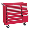 tool cabinets: Kennedy - 64315 Maint. Cart 15 Drawer W/Ball Bearing Sld
