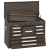 Kennedy Standard Mechanics Chests, 26 1/8 In X 12 1/16 In X 18 7/8 In, Brown Wrinkle KEN 444-360B