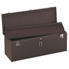 "tool storage: Kennedy - 24"" Professional Tool Boxes, 24 1/8""W X 8 5/8""D X 9 3/4""H, Steel, Brown Wrinkle"