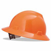 MSA Fluorescent Orange V-Gard Hat w/Ratchet Suspension ORS 454-10021292