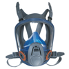 MSA Advantage 3200 Full-Facepiece Respirator, Large, Silicone, Particles And Gases MSA 454-10028997