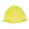 MSA V-Gard 500 Protective Caps, 4 Point Fas-Trac III, 6 1/2 - 8, Hi-Viz Yellow Green MSA 454-10074819