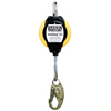 MSA Workman Personal Fall Limiters, 12 Ft, 1 In. Steel Carabiner, 4 Inch Snaphook MSA 454-10093350
