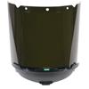 MSA V-Gard Accessory System Welding/Cutting/Brazing Visors, Green, 17 1/4 X 8 MSA 454-10115861
