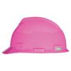 MSA V-Gard Protective Cap, Fas-Trac III, 6 1/2 - 8, Hot Pink MSA 454-10155230
