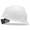 MSA White V-Guard Slotted Hard Hat ORS 454-475358