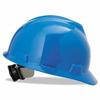 MSA Blue V-Gard Slotted Hard Hat ORS 454-475359