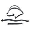 MSA Cradle Suspension Head Harness, Buckle Closure, Black MSA 454-480234