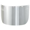 MSA Polycarbonate Visors, Clear, Flat MSA 454-10017934