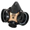 MSA Comfo Classic Respirator, Large, Silicone, Particles And Gases MSA 454-808061