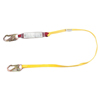 MSA Sure-Stop Shock-Absorbing Lanyard, Anchorage Connection, 4 Ft, Yellow MSA 454-SWL4068704LS