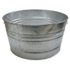 Magnolia Brush 48.61-Qt. Galvanized Tub MGB 455-1