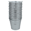 Mops & Buckets: Magnolia Brush - 12Qt Galvanized Water Pail