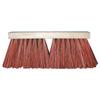 Magnolia Brush Palmyra Stalk Street Brooms, 16 In, 6 1/4 In Trim L, Dyed Palmyra Stalk MGB 455-1516P