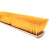 brushes: Magnolia Brush - No. 19 Line Floor Brushes, 24 In Hardwood Block, 3 In Trim L, Yellow Plastic