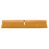 brushes: Magnolia Brush - Plastic Fill Line Floor Brush, 24 In Hardwood Block, 3 In Trim L, Yellow Plastic
