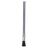 Magnolia Brush Tin Handle Acid Brushes, 3/4 In Trim L, Stiff Black Horsehair, 3/8 In Dia. MGB 455-1A