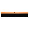 brushes: Magnolia Brush - No. 20 Line Floor Brushes, 24 In Hardwood Block, 3 In Trim L, Black Plastic