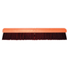 Magnolia Brush No. 22A Line Garage Brush, 24 In Hardwd Block, 3 In Trim L, Coarse Brown Plastic MGB 455-2224-A