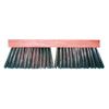 Magnolia Brush Carbon Steel Wire Street Push Brooms, 16 In Hardwood Block, 3 3/4 In Trim L MGB 455-3916