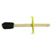 brushes: Magnolia Brush - Dope Brushes, 2 In Wood Block, 2 In Trim L, Grey Tampico Fiber