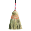 Magnolia Brush Janitor Brooms, Broom Corn, Black Lacquered Handle MGB 455-5026-BUNDLED