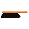 cleaning chemicals, brushes, hand wipers, sponges, squeegees: Magnolia Brush - Counter Dusters, 13 1/2 In Hardwood Block, 2 1/2 In Trim L, Black Horsehair