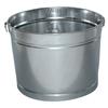 Mops & Buckets: Magnolia Brush - 5Qt Galvanized Metal Pail