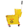 Magnolia Brush Plastic Mop Bucket, 35 Qt, Yellow MGB 455-6035-3