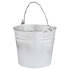 Mops & Buckets: Magnolia Brush - 8Qt. Galvanized Pail Hot-Dipped