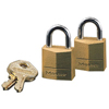 Master Lock No. 120 Solid Brass Padlocks MST 470-120D
