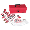 Master Lock Safety Series™ Personal Lockout Kits MST 470-1457E410KA